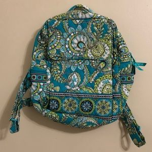 Vera Bradley RETIRED Peacock Backpack